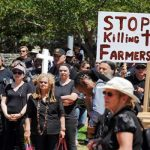 south africa farmers protest
