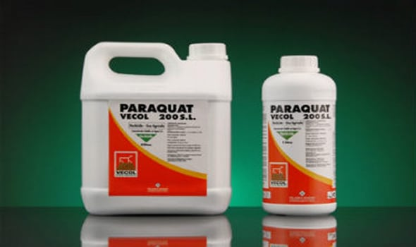 paraquat agro chemical hazards